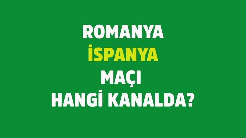 CANLI Romanya İspanya