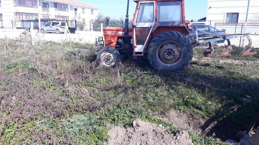 Lüleburgaz'daki traktöre Manisa'da trafik cezası kesildi!
