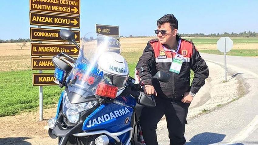 Motosikletli jandarma kaza yaptı: 1 şehit