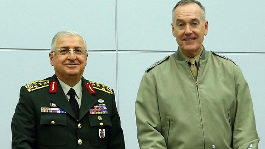 Türkiye'den ABD'ye güvenli bölge mesajı