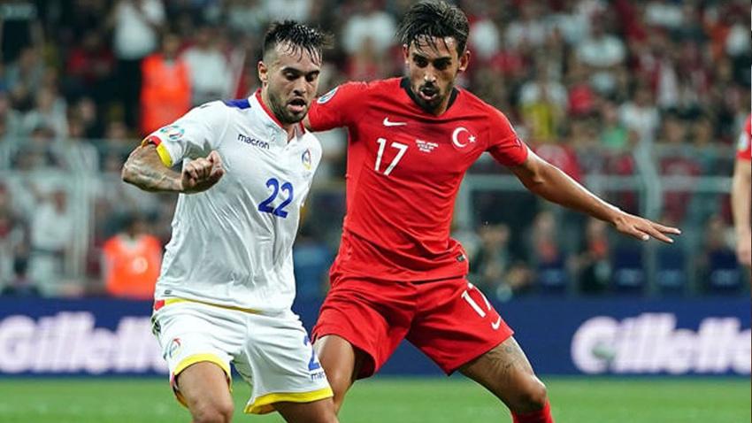 Türkiye - Andorra: 1 -0 maç sonucu