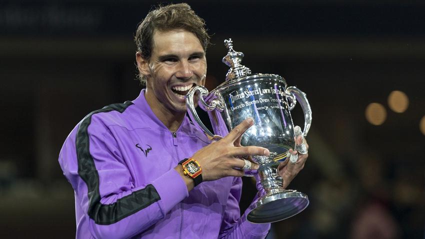 ABD Açık'ta şampiyon Nadal oldu
