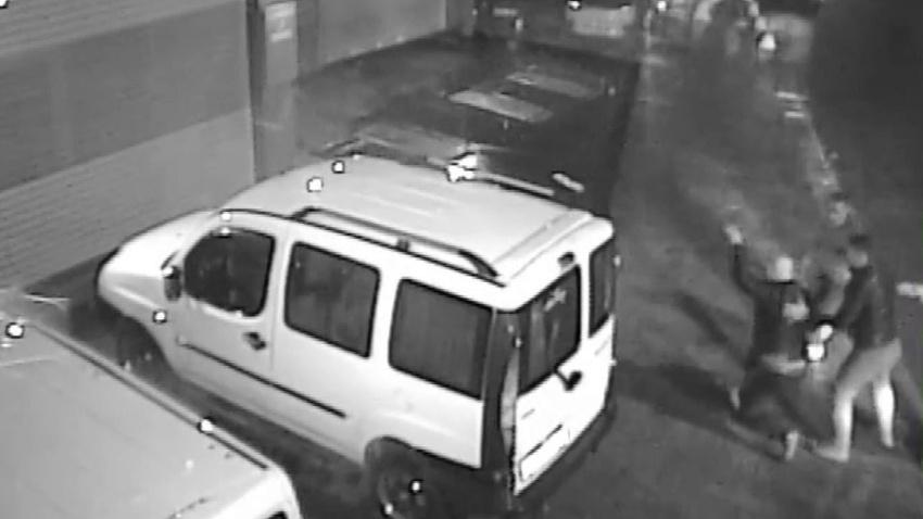 Tüyler ürperten taksici cinayetinin görüntüleri ortaya çıktı