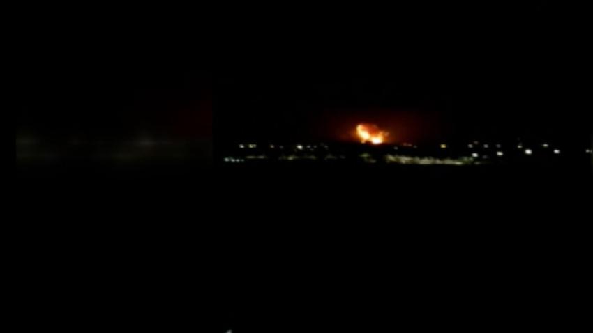KKTC'deki mühimmat deposunda peş peşe patlamalar