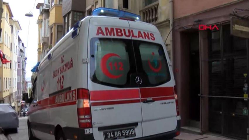 Beyoğlu'nda otelde 2 İngiliz turistin sır ölümü