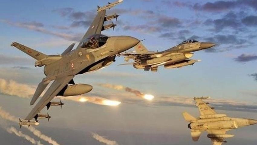 Irak'ın kuzeyine hava harekatı: 2 terörist etkisiz