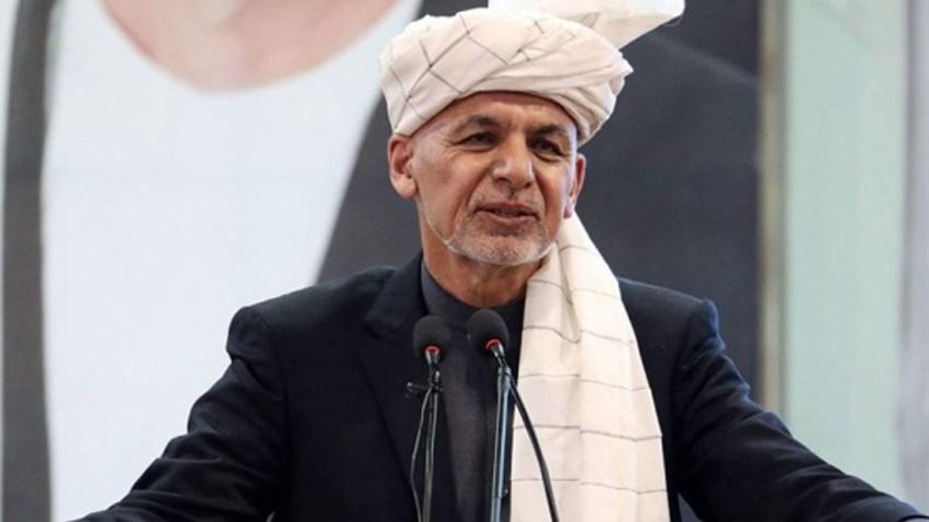 Afganistan Cumhurbaşkanının katıldığı mitingde patlama