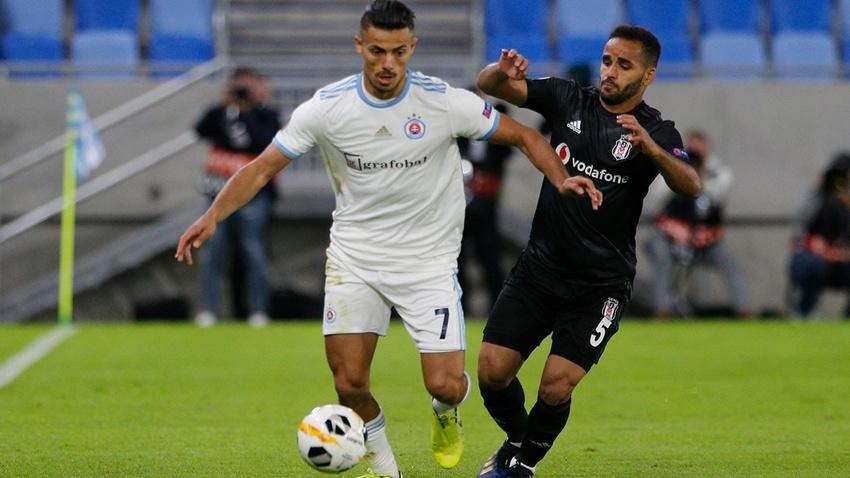 S. Bratislava - Beşiktaş: 4-2 maç sonucu
