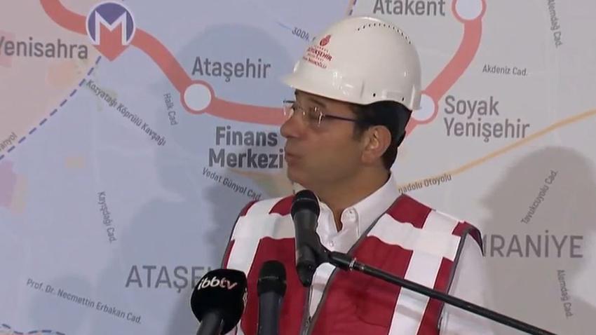 Ümraniye - Göztepe metro hattı inşaatına yeniden başlandı