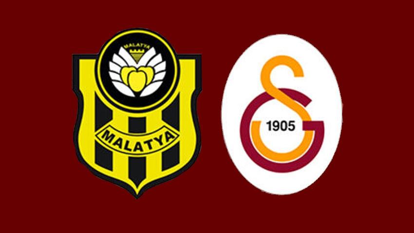 İşte Galatasaray ve Yeni Malatyaspor'un ilk 11'leri