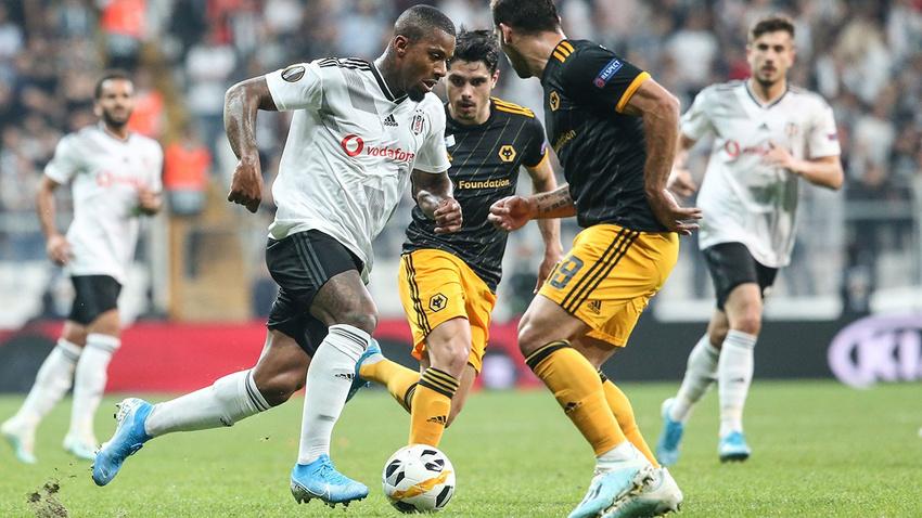Beşiktaş - Wolverhampton: 0-1 maç sonucu