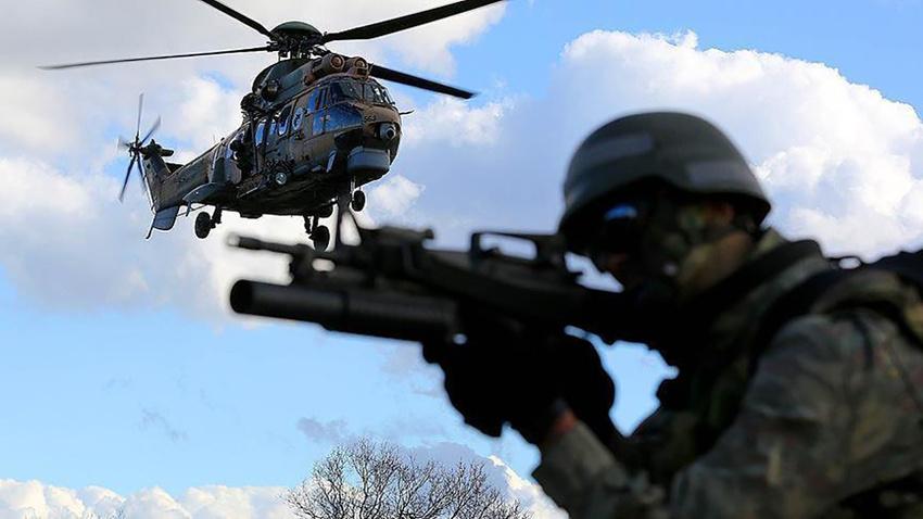 MSB: K.Irak'ta 17 terörist etkisiz hale getirildi