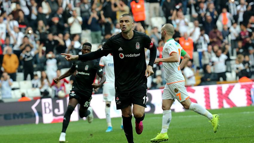 Beşiktaş - Alanyaspor: 2-0 maç sonucu