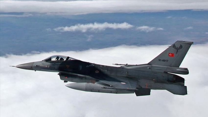 Irak'ın kuzeyine hava harekatı: 3 terörist etkisiz