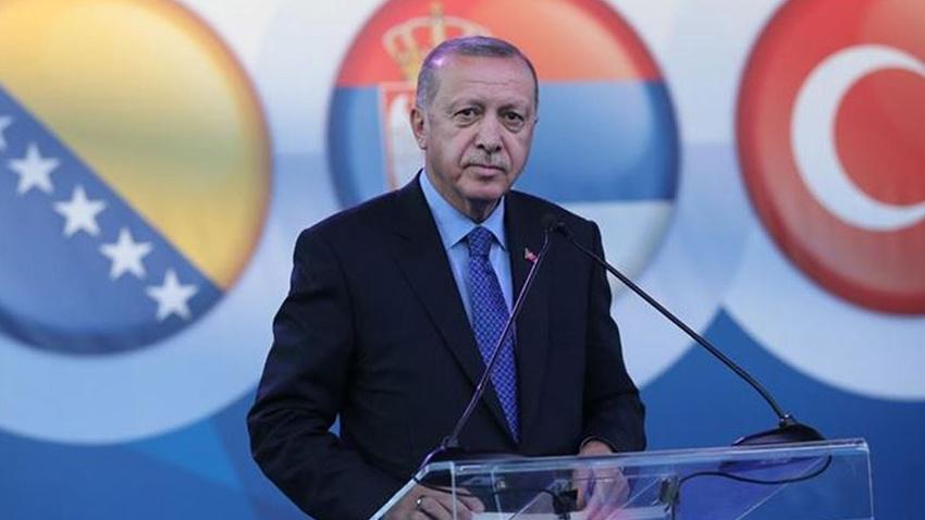 Erdoğan: Türkiye'nin yegane arzusu, isteği, Balkanların barışıdır, istikrarıdır