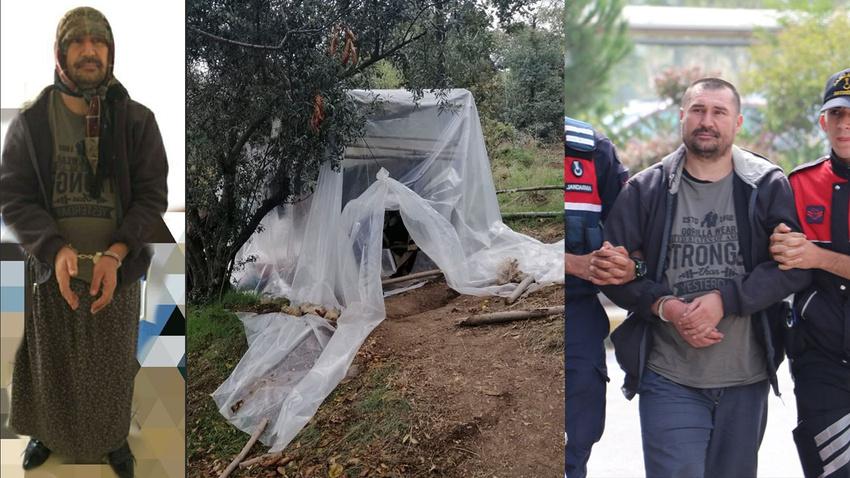 2 cinayetin zanlısı kadın kılığında yakalandı!