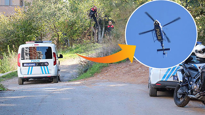 Sultanbeyli'de şüpheli polis aracıyla kaçtı!