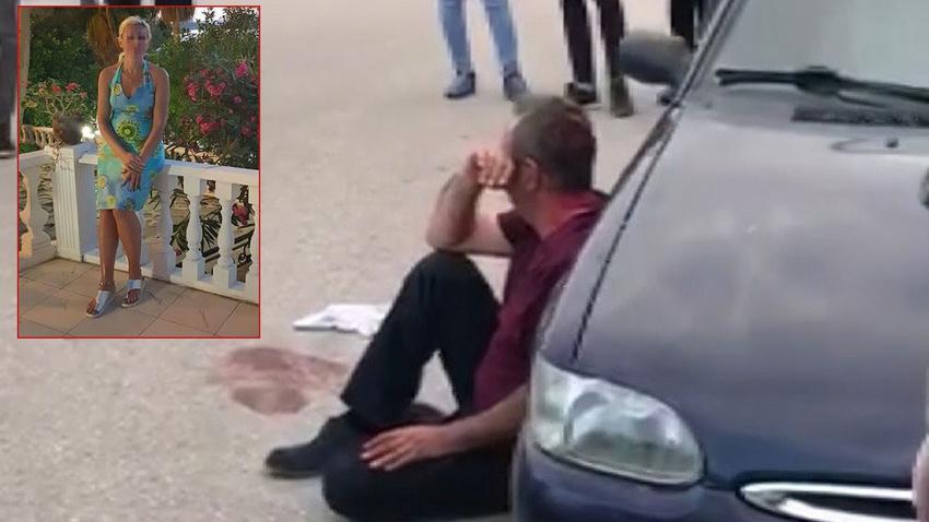 Sokak ortasında satırlı dehşet! Linçten polis kurtardı