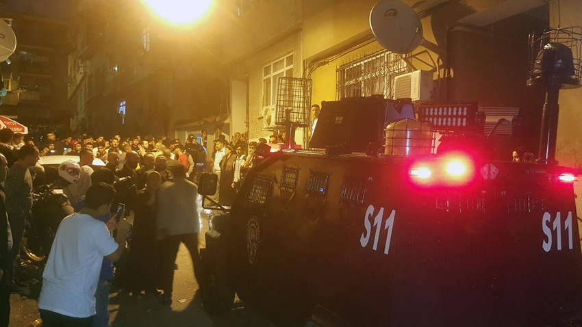 Fatih'te mahalleyi ayağa kaldıran taciz iddiası
