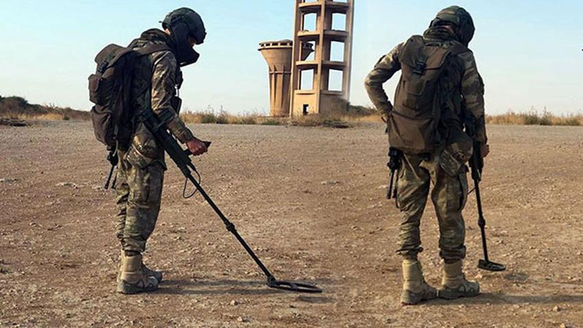 Milli Savunma Bakanlığı duyurdu: Temizlik sürüyor