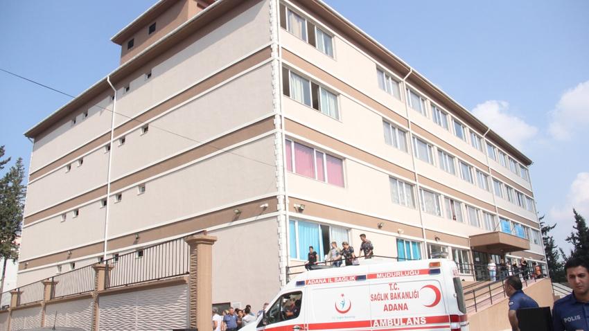 Adana bir öğrenci okulun 4. katından düştü