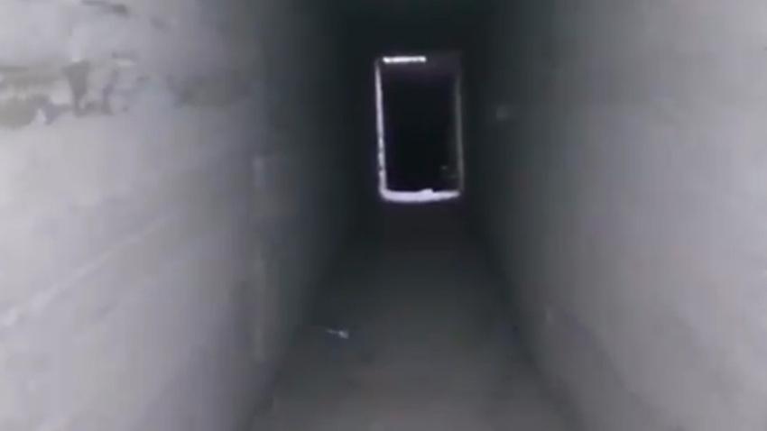 Terör örgütü PKK/YPG karargahına açılan tünel bulundu