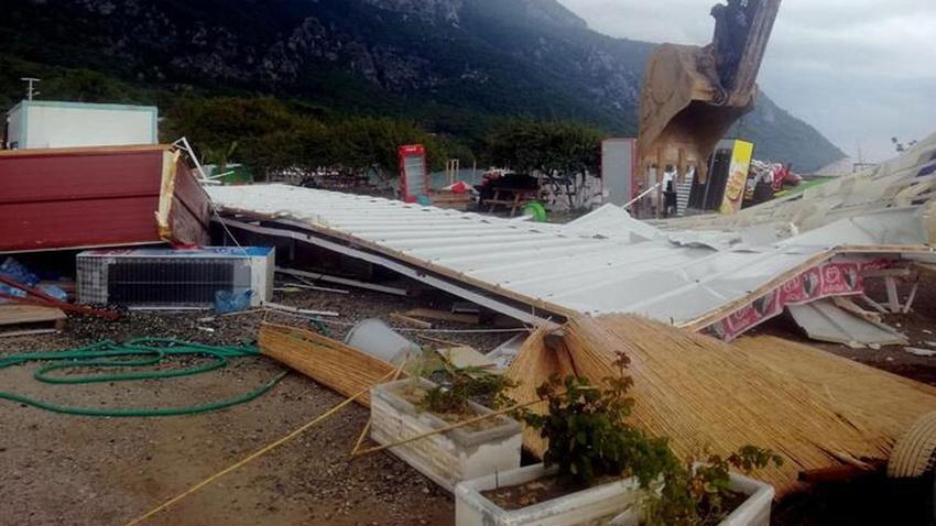 Kaçak yapıların yıkımına başlandı