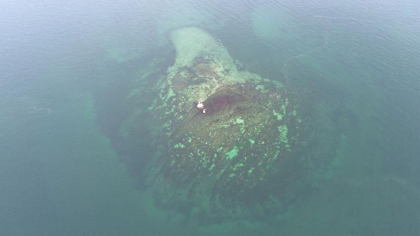 Büyük İstanbul depremiyle batmıştı!..  İstanbul'un 10'uncu adası böyle görüntülendi!