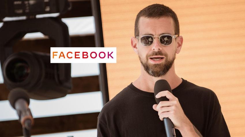 Twitter CEO'su Facebook'un yeni logosunu trolledi