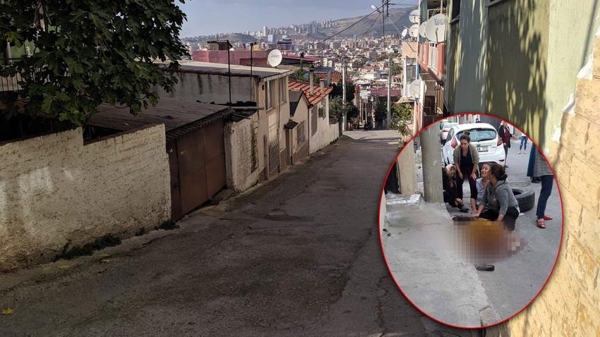 Çocukların yuvarladığı tekerlek yaşlı kadını ezdi