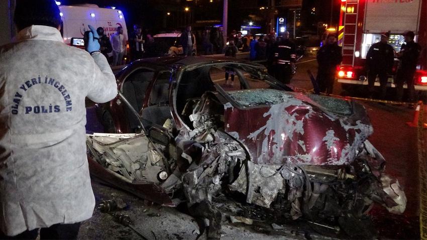 Trabzon'da korkunç kaza!..  Feci şekilde can verdiler!