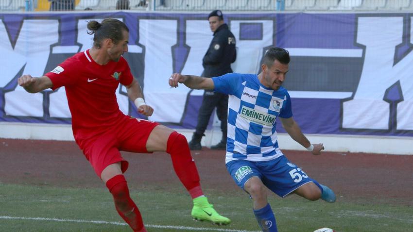 Erzurumspor ile Akhisarspor yenişemedi