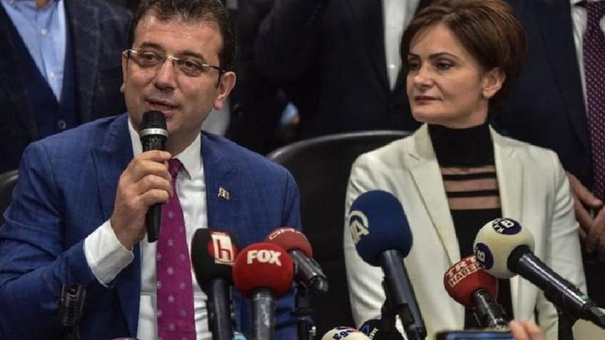 """İmamoğlu'ndan Canan Kaftancıoğlu'na: """"Doğru bulmuyorum"""""""