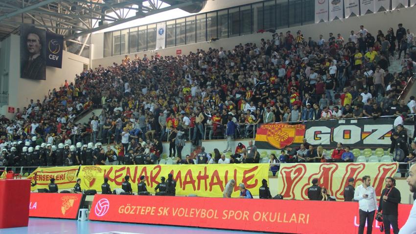 Göztepe - Karşıyaka maçında olay