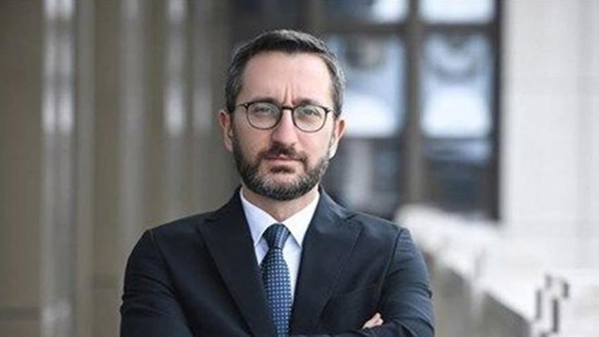 İletişim Başkanı Fahrettin Altun'dan Macron'a yanıt