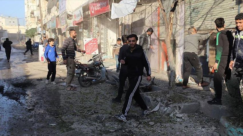 Azez'e havan ve roketli saldırı: Ölü ve yaralılar var
