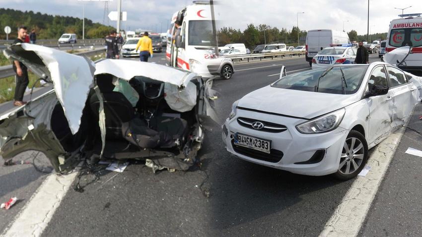 İstanbul'da korkunç kaza!.. İkiye bölündü!.. Ölen ve yaralananlar var!