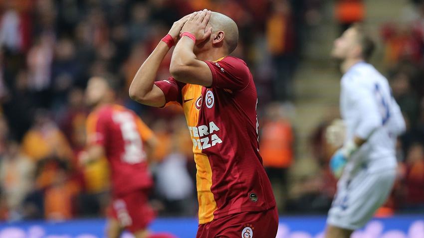 Galatasaray - Başakşehir: 0-1 maç sonucu