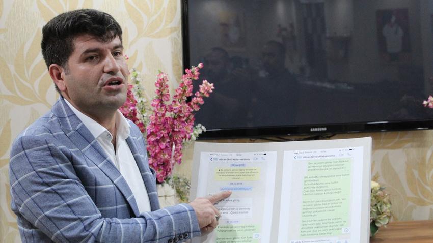 Eski HDP Batman Milletvekili Mehmet Ali Aslan zehir zemberek sözlerle HDP'den istifa etti