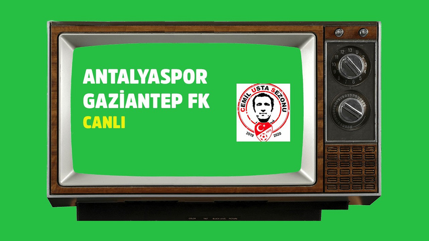 Antalyaspor Gaziantep FK  CANLI