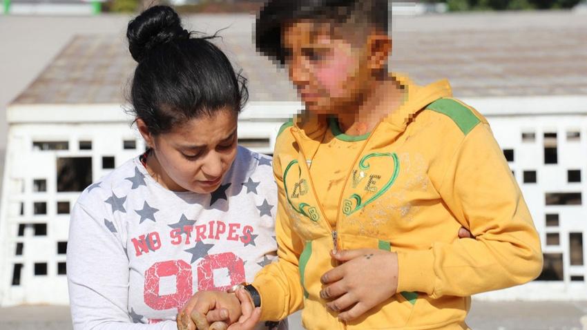 Genç kızın üzerine benzin döküp yakan cani tutuklandı