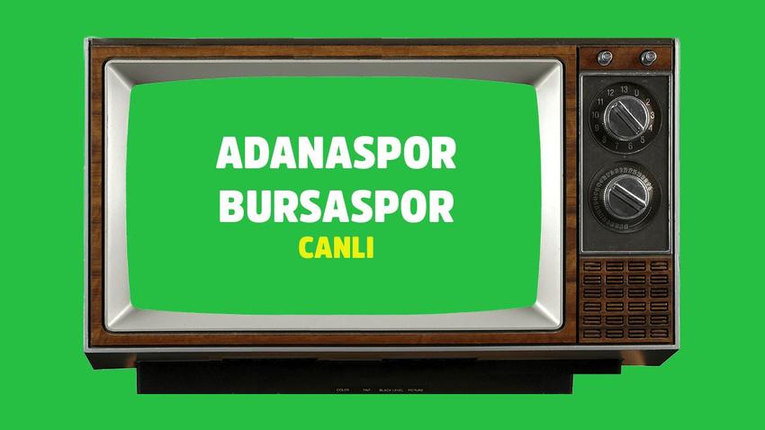 Adanaspor Bursaspor CANLI
