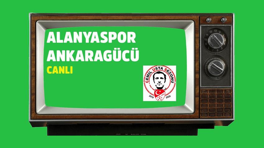 Alanyaspor Ankaragücü CANLI