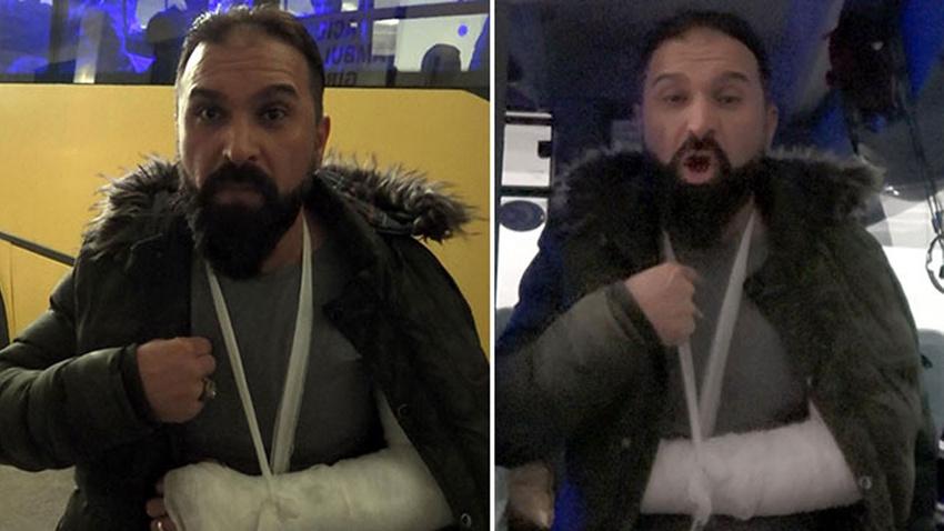 'Yok artık' dedirten olay!.. Türkiye'ye geri itildi!.. 2 saat dövüp kolunu kırmışlar!