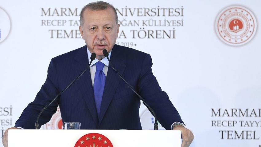 Cumhurbaşkanı Erdoğan'dan Macron'a sert yanıt