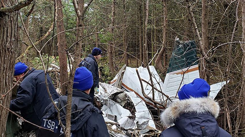 Kanada'da uçak düştü: Çok sayıda ölü var