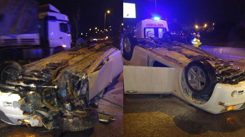 Ankara'da korkunç kaza!.. Kolu koptu!