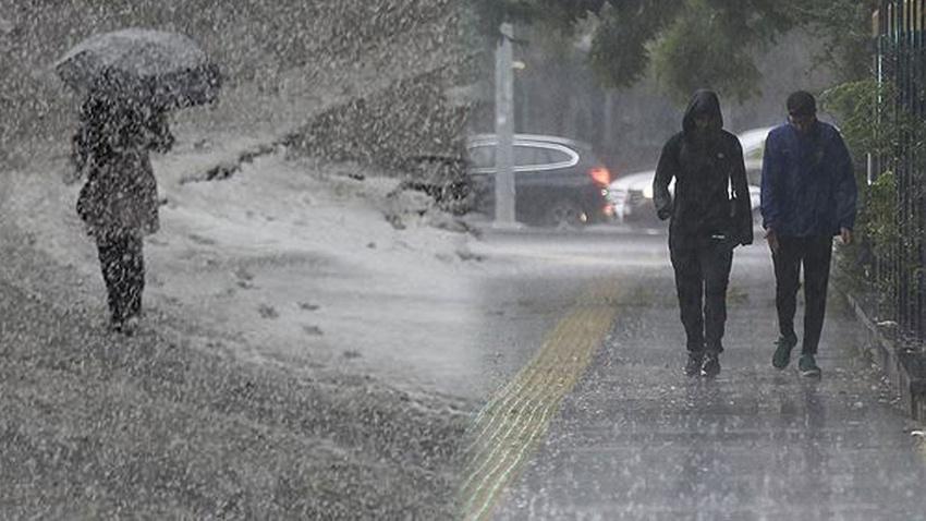 Meteorolojiden il il kritik uyarı!.. Sağanak yağış, kar..!
