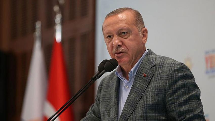 Erdoğan: Bizi bölmek isteyenlere fırsat vermeyin!