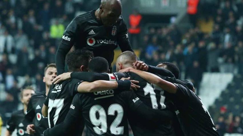 Beşiktaş - Kayserispor: 4-1 maç sonucu